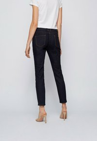 BOSS - CROP - Slim fit jeans - dark blue - 2
