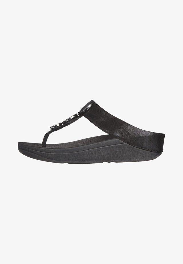 HALO - T-bar sandals - black