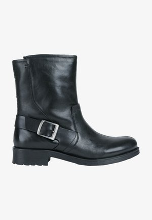 RAWELLE - Cowboy/biker ankle boot - black