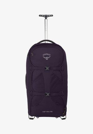 FAIRVIEW WHEELS - Wheeled suitcase - amulet purple