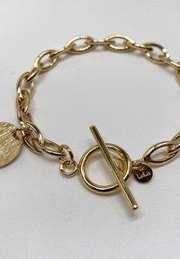 LOLA - T BAR CHUNKY - Bracelet - gold coloured - 1