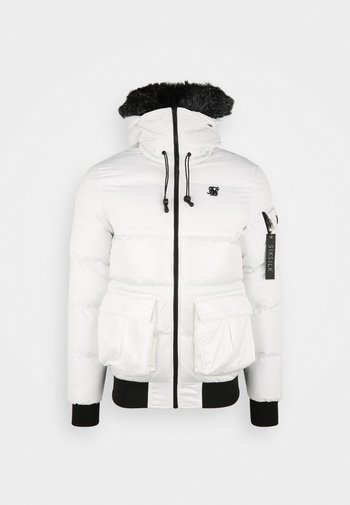 DISTANCE - Giacca invernale - white