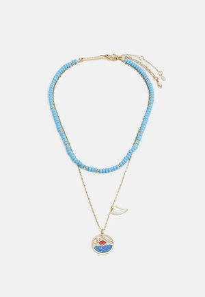 HORIZON CHARM LAYERED NECKLACE  - Collana - gold-coloured