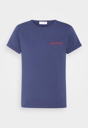 POITOU FRENCH TOUCH - Basic T-shirt - navy
