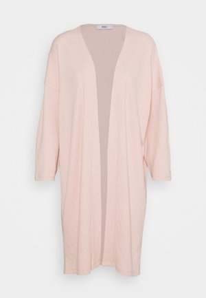ONLDIANA LONG CARDIGAN  - Chaqueta de punto - rose smoke