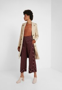 Marella - VALIKA - Trousers - bordeaux - 1