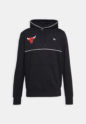 NBA CHICAGO BULLSPIPING HOODY - Jersey con capucha - black
