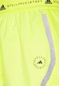 adidas by Stella McCartney - TRUEPACE - Sportovní kraťasy - acid yellow - 10