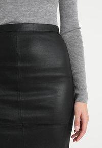 DAY Birger et Mikkelsen - PLONGY - Pencil skirt - black - 4