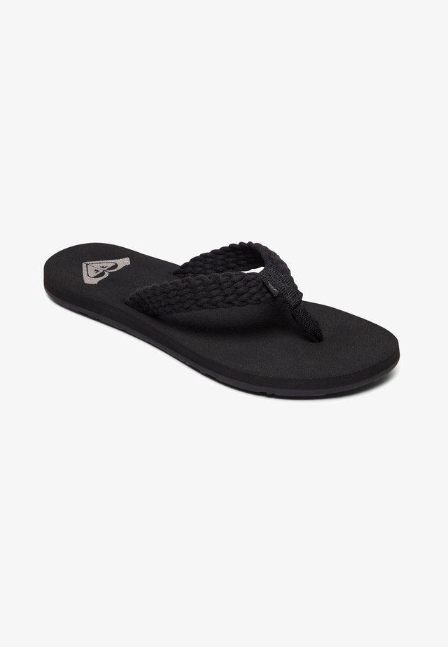 PORTO - Japonki kąpielowe - black