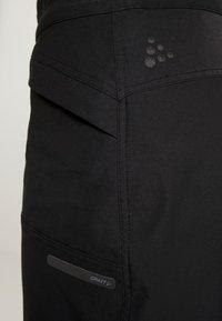 Craft - SUMMIT SHORTS WITH PAD - kurze Sporthose - black - 3