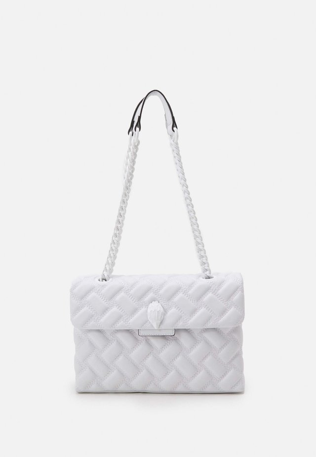 KENSINGTON BAG DRENCH - Schoudertas - white