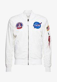 NASA REVERSIBLE II - Bomber bunda - weiß