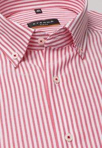 Eterna - SLIM FIT - Shirt - rot/weiss - 5