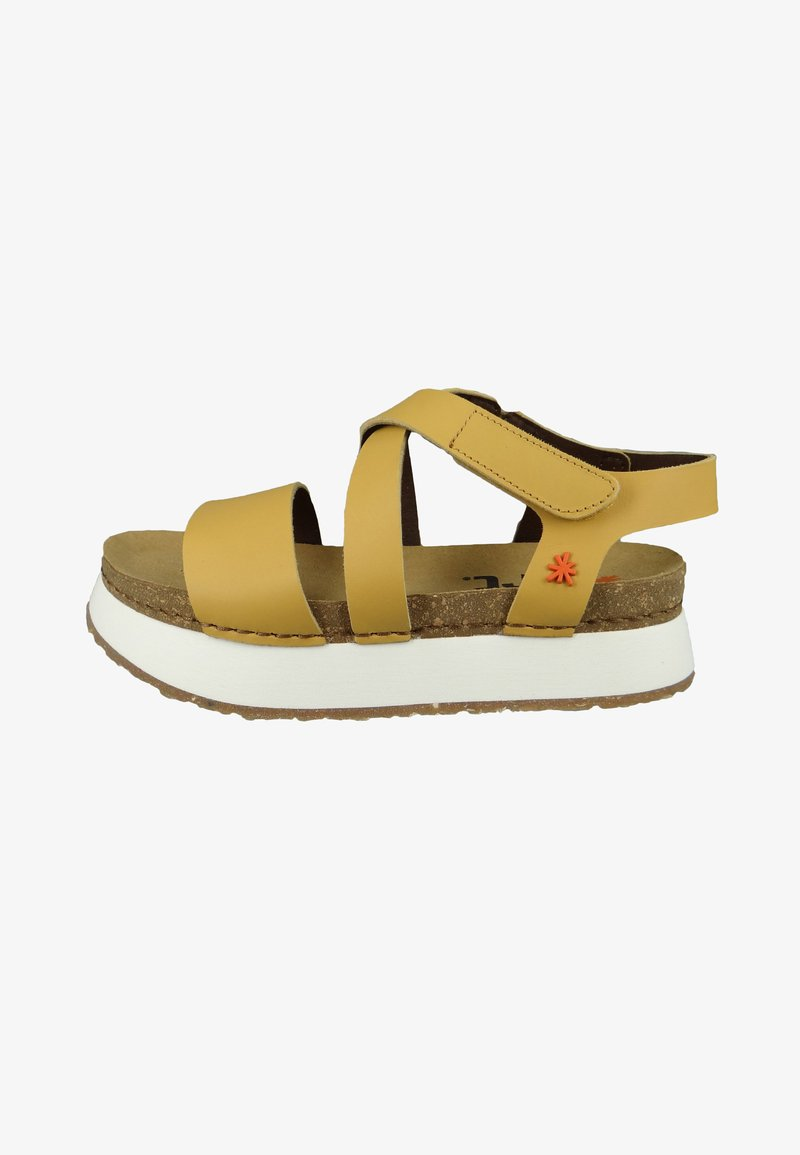 Art - Platform sandals - sun