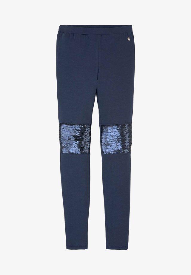 Leggings - Trousers - dress blue|blue