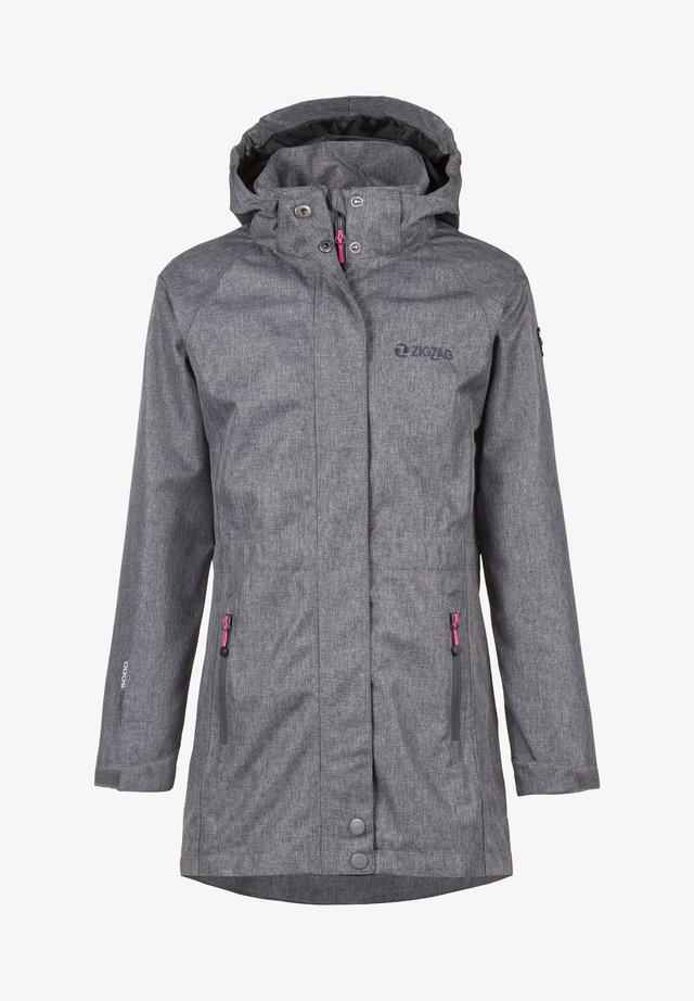 ROSSIY - Parka - light grey melange