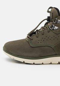 Timberland - KILLINGTON - Šněrovací kotníkové boty - dark green - 5