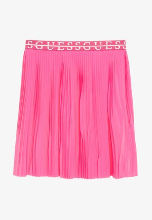 JUNIOR PLEATED MIDI SKIRT - Gonna a pieghe - pop pink