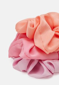 Pieces - PCCLARA SCRUNCHIE 3 PACK - Hair Styling Accessory - pink dogwood - 1