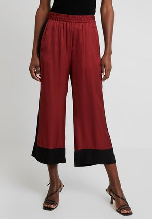 PANT - Trousers - russet brown