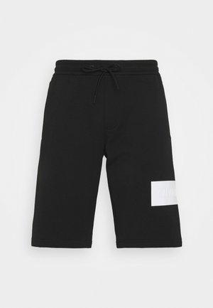 BLOCKING LOGO - Shorts - black