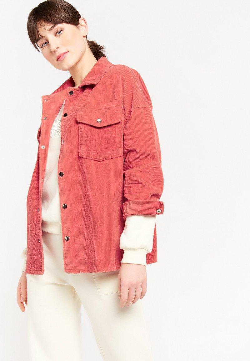 LolaLiza - Button-down blouse - fuchsia