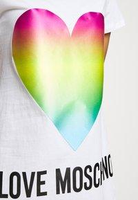 Love Moschino - Vestido ligero - optical white - 6