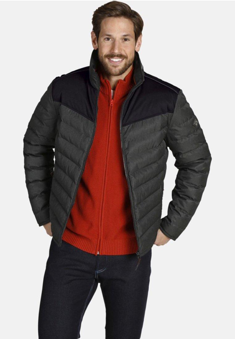 Shopping En Ligne Vêtements homme Jan Vanderstorm KELVIN Veste d'hiver dark blue XfXyJ9Jr