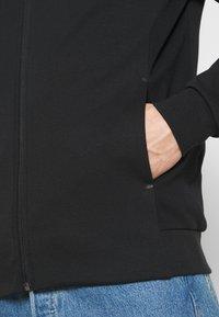 Tommy Hilfiger - MODERN ESSENTIALS ZIP THRU HOODY - Felpa con zip - black - 4