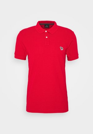 MENS SLIM FIT - Polotričko - red