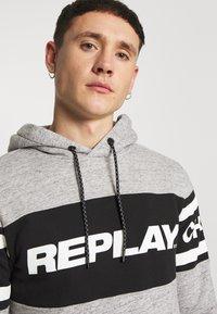 Replay - Hoodie - grey melange - 4