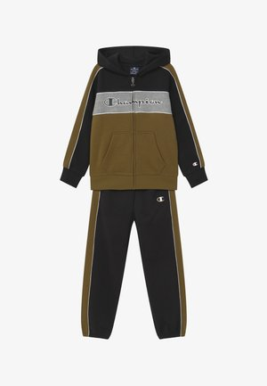 LEGACY HOODED FULL ZIP SUIT SET - Dres - black