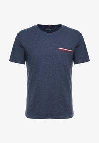 Pier One - T-shirt basic - mottled dark blue - 3