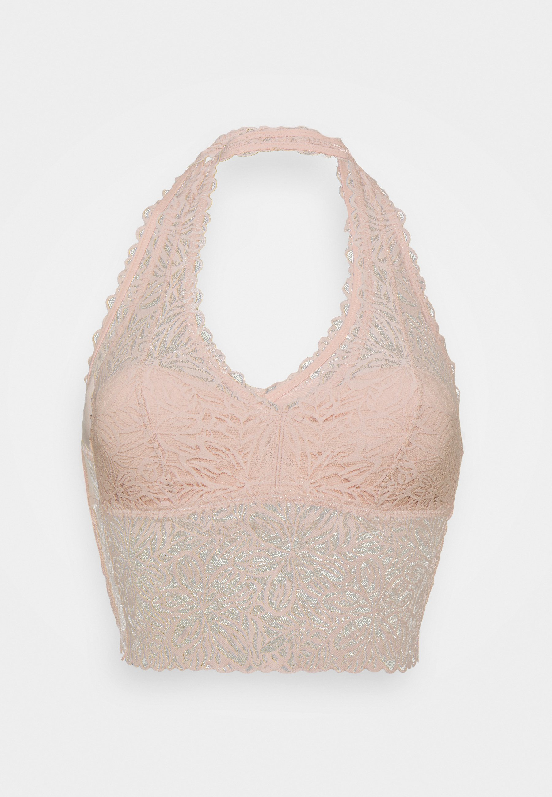Women SOLID HALTER PADS - Triangle bra