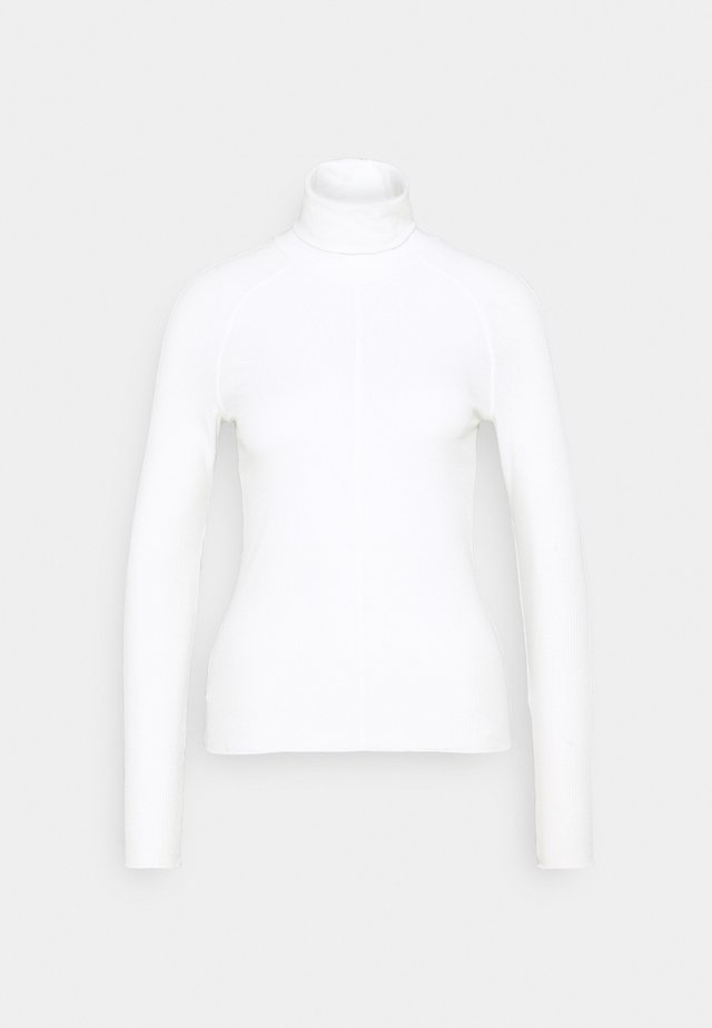 CAROL TURTLENECK - Longsleeve - white