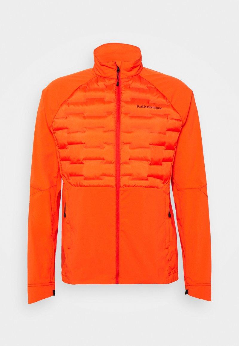 Peak Performance - ARGON SWIFT HYBRID - Outdoor jacket - super nova