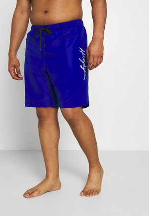 LOGO DRAWSTRING - Swimming shorts - sapphire blue
