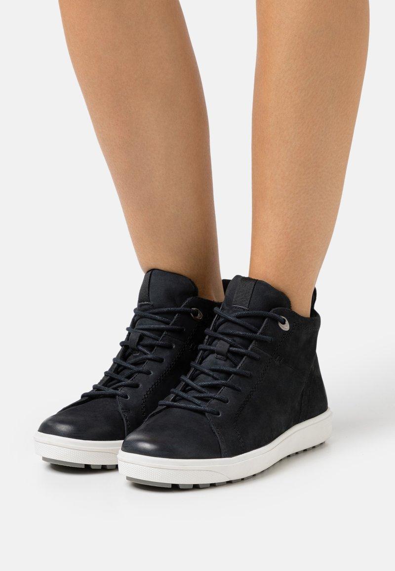 Jana - Sneakers hoog - navy