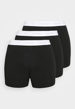 STRETCH BRIEF 3 PACK - Onderbroeken - black