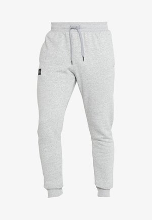 RIVAL  JOGGER - Tracksuit bottoms - steel light heather/black