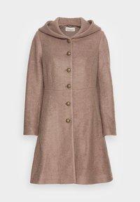 Cream - ANNABELL COAT - Classic coat - faded brown melange - 3