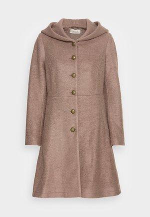 ANNABELL COAT - Abrigo clásico - faded brown melange