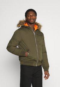 Schott - POWELL - Winter jacket - kaki - 0
