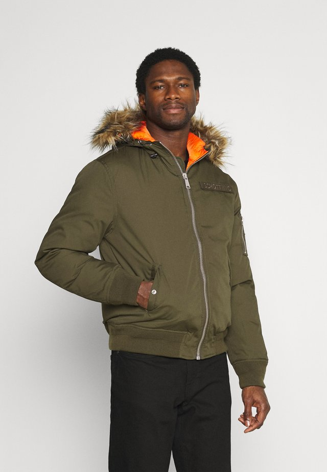 POWELL - Winter jacket - kaki
