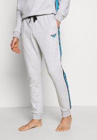 Emporio Armani - Pantaloni del pigiama - melange grey - 0