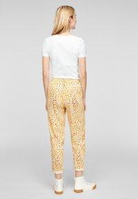 s.Oliver - MIT ARTWORK - Print T-shirt - white - 2