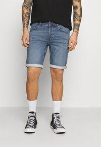 Only & Sons - ONSPLY LIFE - Denim shorts - blue denim - 0