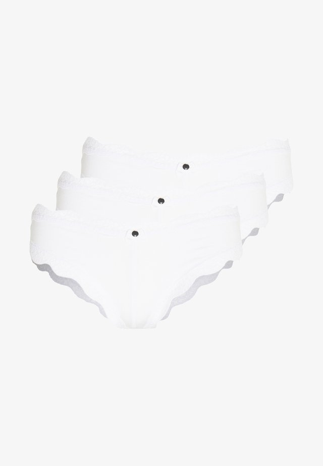 TATIANA BRAZILIAN 3 PACK - Underbukse - white
