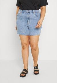 Dr.Denim Plus - NORA - Denim shorts - light retro - 0